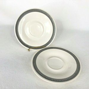 2 Pfaltzgraff Farmers Market Saucers Replacements
